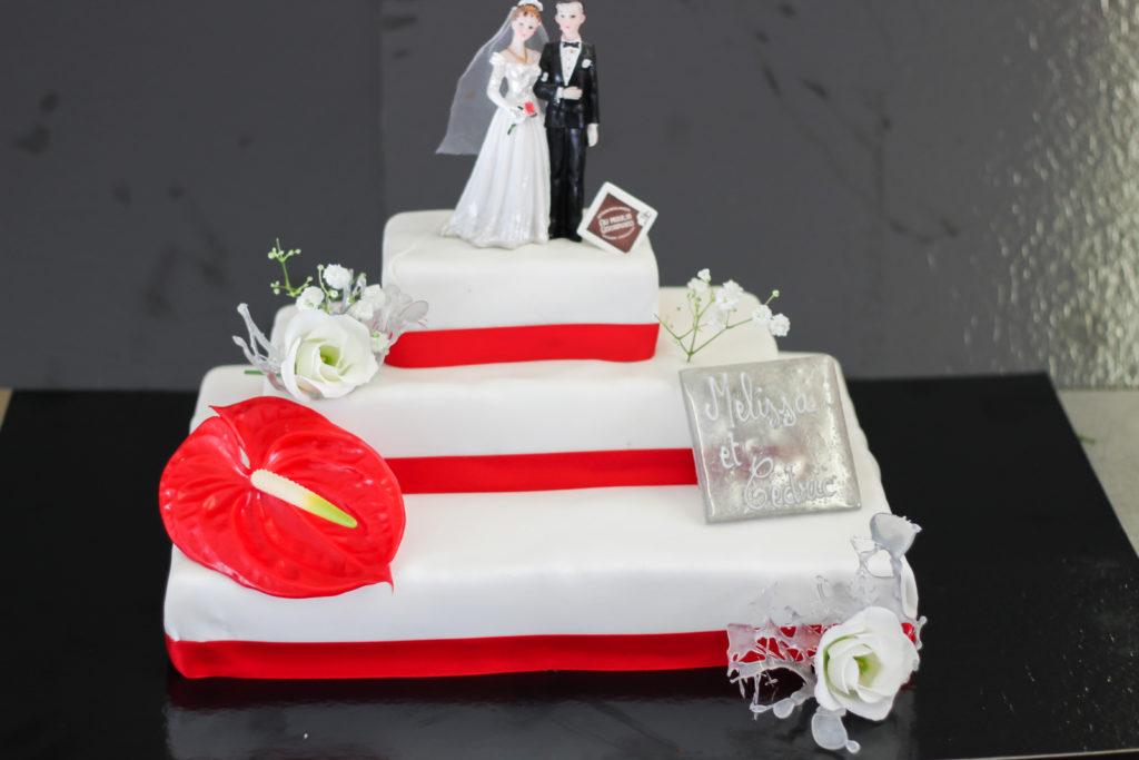 Déco weedding cake